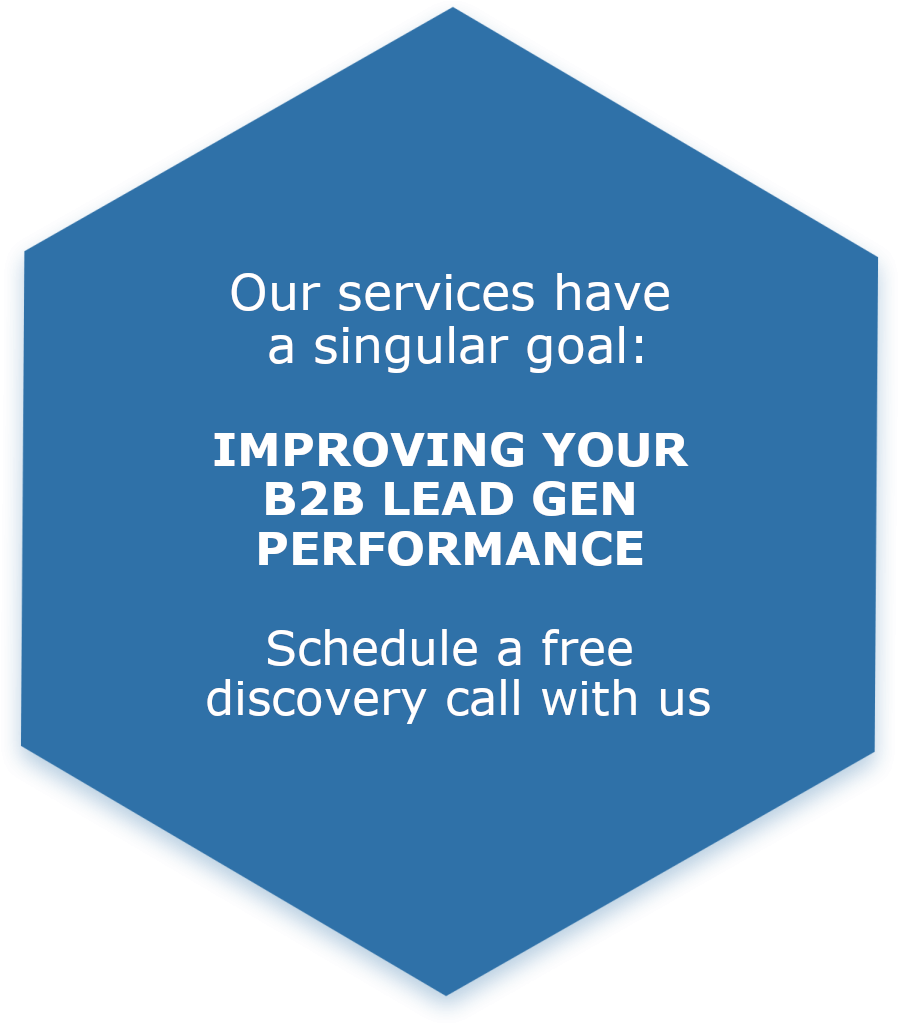 Lead Generation services offered by Saratoga