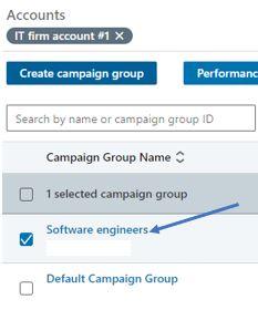job title screenshot from linkedin