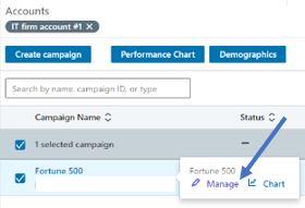 """manage"" screenshot from linkedin"