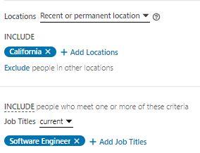 combo job titles and geo-location screenshot from LI