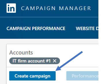 create campaign icon image screenshot from linkedin