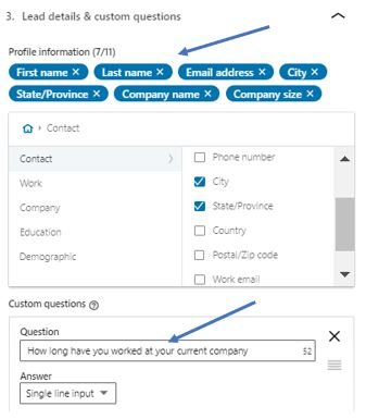 uploaded list exact example screenshot from linkedin